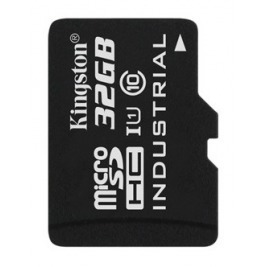 32GB microSDHC Kingston UHS-I Industrial Temp + bez adapteru