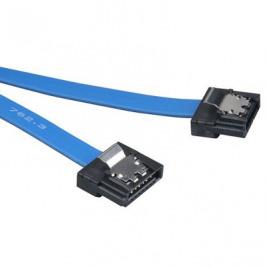 AKASA - Proslim 6Gb/s SATA3 kabel - 15 cm - modrý