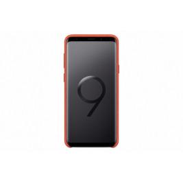 Samsung Zadní kryt - kůže Alcantara pro S9+ Red