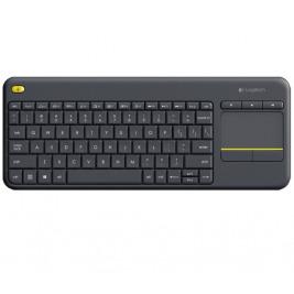 Logitech Wireless Touch Keyboard K400 plus, USB,US