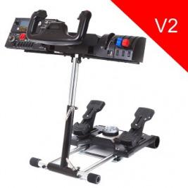Wheel Stand Pro DELUXE V2, stojan na joystick a pedály Saitek Pro Rudder, Pro Flight Yoke System