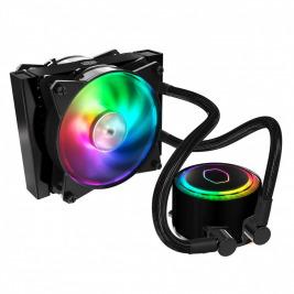 vodní chladič Cooler Master MasterLiquid ML120R RGB, 157mm x 120mm radiátor, 2 x 120mm RGB ventiláto