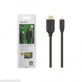 BELKIN HDMI - Micro HDMI kabel Gold, Ethernet, 3 m