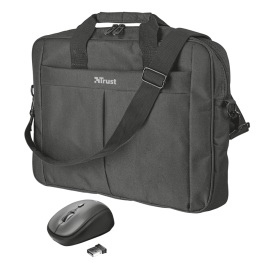 set TRUST Primo 16'' Bag with wireless mouse
