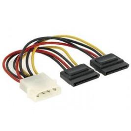 PremiumCord Napájecí kabel k HDD 5,25 Molex-2xSeri