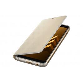 Samsung Flipové neonové pouzdro pro A8 2018 Gold