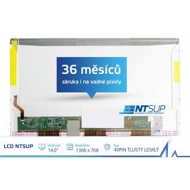 LCD PANEL NTSUP 14,0'' 1366x768 40PIN TLUSTÝ LESKLÝ