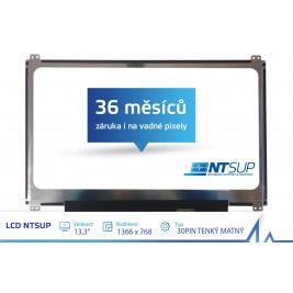 LCD PANEL NTSUP 13,3'' 1366x768 30PIN TENKÝ MATNÝ