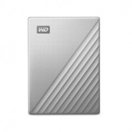 Ext. HDD 2,5'' WD My Passport Ultra 4TB stříbrná