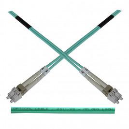 Optický patch kabel duplex LC-LC 50/125 MM 0,5m OM3