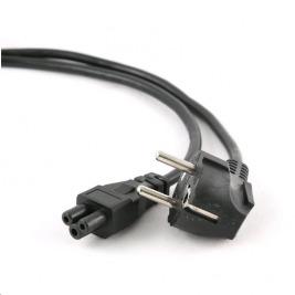 Kabel C-TECH síťový  1,8m VDE 220/230V napájecí notebook 3 pin Schuko
