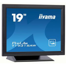 19'' iiyama T1931SAW-B5 - TN,SXGA,250cd/m2, 1000:1,5:4,VGA,HDMI,DP,USB,repro.