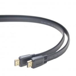 Gembird plochý kabel HDMI-HDMI 2.0,zlac., 1,8m