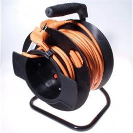 PremiumCord Prodlužovací kabel 230V 50m buben, průřez vodiče 3x1,5mm2