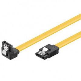 PremiumCord SATA 3.0 datový kabel, 6GBs, 90°, 0,7m