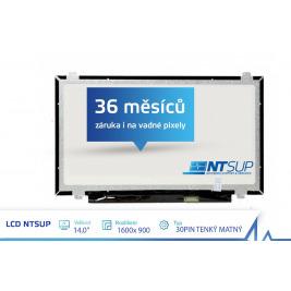 LCD PANEL NTSUP 14,0'' 1600x900 30PIN TENKÝ MATNÝ