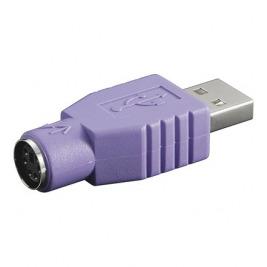PremiumCord Redukce USB male - PS/2 female