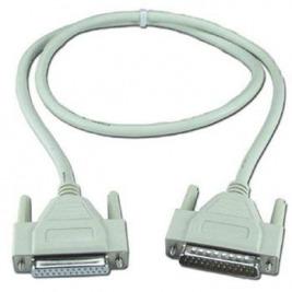 PremiumCord Datový kabel 25M-25F 2m 25ž.